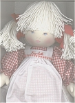 Click here to enlarge image and see more about item PAU0002: Pauline Cloth Paulinette Elizabeth Doll in Red