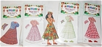 Click here to enlarge image and see more about item PDM0026D: Peck Aubry Whitney Kidoodles Paper Doll Set 1997