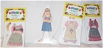 Click here to enlarge image and see more about item PDM0026J: Peck Aubry Ashley in the Country Kidoodles Paper Doll Set
