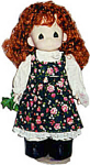 Click here to enlarge image and see more about item PMC0027: Precious Moments 1995 Irish Colleen Doll