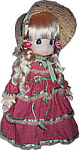 Click here to enlarge image and see more about item PMC0028: Precious Moments Co. Tiffany Doll 1990