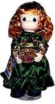 Click here to enlarge image and see more about item PMC0033: Precious Moments Co. Whitney Winter Doll 1995