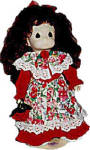 Click to view larger image of Precious Moments Co. Rosemary Sweetheart Doll 1996 (Image3)