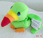 Click here to enlarge image and see more about item PMC0290B: Precious Moments Co. Jeremy the Toucan Bean Bag Pal