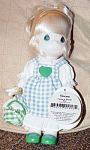 Click here to enlarge image and see more about item PMC0320A: Precious Moments Co. Picnic Bianca Doll 1998