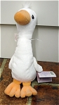 Click here to enlarge image and see more about item PME1031: Tender Tails White Goose Precious Moments Bean Bag