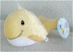 Click here to enlarge image and see more about item PME1050B: Tender Tails Yellow Whale Precious Moments Bean Bag