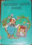Johnny Gruelle's Hardcover Book, Raggedy Andy's Stories, was Written and Illustrated by Johnny Gruelle. This book is from the 1975 printing with smaller picture on teal blue cover, copyrighted in 1920, 1948. Bobbs-Merrill and Company is the publisher. It is complete with its original charming color and black-and-white drawings, and it has 95 pages. This book contains stories about Raggedy Andy, Raggedy Ann, Marcella, her father, and the other dolls. The dolls and toys come to life whenever Marcella and her family are away or asleep. This favorite children's classic is in very good condition except for minor wear showing on the right corner of cover and library markings. Expand listing to view both photographs.