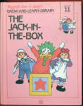 This listing is for the hard cover book, The Jack-in-the-Box, Volume 11 in Raggedy Ann and Andy's Grow-and-Learn Library. It has 44 pages with large print and color illustrations on each page. This was copyrighted by Macmillan, Inc. in 1988, and published by Lynx Books. The characters and drawings are based on the creations of Johnny Gruelle.  The book is preowned and gently used. The cover is intact with only minor scrapes and tag residue. The pages of the book are intact and in excellent condition. The book is in excellent condition. The book is meant for a young child to read, though it is also good to read to a child. The Jack-in-the-Box belonged to Marcella's visiting cousin, David, who left it in the library when he went on a picnic with her family. The Jack-in-the-Box hid his shyness behind bragging and arrogance when he shut himself in his box and tried to avoid playing with the other toys who invited him to come out and play circus. His music was perfect for their circus, and he ended up joining in the fun. When the people are away the dolls, stuffed animals, and young animals come to life and talk and interact with one another in drawings like classical ones. Its ISBN numbers is ISBN 10: 1558021116.