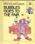 This listing is for the hard cover book, Bubbles Goes to the Fair, Volume 18 in Raggedy Ann and Andy's Grow-and-Learn Library. It contains 44 pages with large print and color illustrations on each page. This was copyrighted by Macmillan, Inc. in 1988, and published by Lynx Books. The characters and drawings are based on the creations of Johnny Gruelle.  The book is preowned and gently used. The cover only shows the slightest wear. The pages of the book are intact and in excellent condition. The book is meant for a young child to read, though it is also good to read to a child. In this book the dolls and toys plan for the Raggedy Land Fair. Bubbles the Clown practices juggling to try to win. When the dolls get to the fair, he realizes that he forgot his ball and has to devise his own solution to avoid missing the contest. He ended up borrowing 3 apples and juggling his best so that he won the contest. The book shows that one can help one's self and teaches independence.  When the people are away the dolls, stuffed animals, and young animals come to life and talk and interact with one another in drawings like classical ones. Its ISBN 10 number is 1558021175.