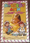 Click here to enlarge image and see more about item RCF0003: Colorforms Raggedy Ann and Andy Sew-Ons 1974-75