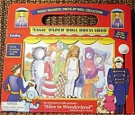 Click here to enlarge image and see more about item SCH0001A: Schylling MagiCloth Alice Paper Doll 2003-04