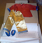 Click here to enlarge image and see more about item STD0014A: Shirley Temple Stowaway Chinese Doll Outfit 1991