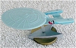 Click here to enlarge image and see more about item STE0042: Star Trek Next Generation Enterprise Polyvinyl Mini-Fig
