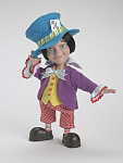 Click here to enlarge image and see more about item TAW0044: Alice in Wonderland Resin Mad Hatter Doll Tonner 2007