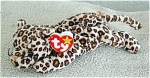 Click here to enlarge image and see more about item TBB0004: Ty Freckles the Leopard Beanie Baby 1996-1998