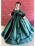 Click to view larger image of Christmas 1863 Scarlett Gone with the Wind Doll, Tonner 2011 (Image1)
