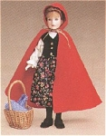 Click here to enlarge image and see more about item TON0042: Robert Tonner Bisque Red Riding Hood 1998