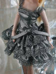 Click to view larger image of Tonner Silver Shimmer 13 In. Revlon Doll Outfit Only, 2011 (Image2)