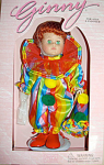Click here to enlarge image and see more about item VOG1322: 1998 Vogue Ginny Clown Circus Doll