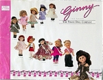 Click here to enlarge image and see more about item VOG1398: Vogue 1999 Ginny Doll and Accessory Catalog