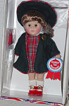 Click here to enlarge image and see more about item VOG1644: Vogue 2000 Whistle Stop Modern Ginny for President Doll