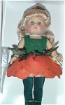 Click here to enlarge image and see more about item VOG1713: Vogue Cabbage Rose Modern Ginny Doll 2001