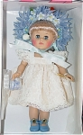 Click here to enlarge image and see more about item VOG1817: Vogue Blue Willow Tea for Two Ginny Doll 2002