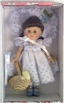 Click here to enlarge image and see more about item VOG1827B: 2002 Vogue Easter Basket Ginny Doll