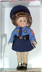 Click here to enlarge image and see more about item VOG2007: 2003 Vogue God Bless America Police Ginny Doll