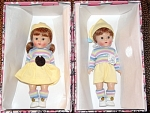 Click here to enlarge image and see more about item VOG2062: Vogue 2003 Binky and Bunky Vintage Reproduction Dolls