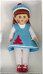 Click here to enlarge image and see more about item VOG2135: Vogue 2004 Wee Imp Felt Jumper Ginny Doll