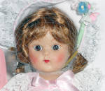 Click to view larger image of Vogue Pink Buds Vintage Repro Ginny Doll 2004 (Image3)