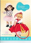 2006 Vogue Color Catalog of Vogue Ginny dolls, clothing packs, and accessories for 2006.  The 2006 Club Doll, vintage-reproduction Rain or Shine with auburn hair and Hula Hoop Ginny are on the cover. This doll catalog contains 16 color pages. It contains both modern Ginny and vintage reproduction Ginny dolls. Lower-priced class first class shipping is available if just a catalog is ordered. If non-Priority First Class shipping is desired, please mention your request lower priced postage to U.S.A. addresses in the comments section of the order form. Uninsured First Class Mail International Mail is available for orders  outside the United States if requested. New and mint condition.