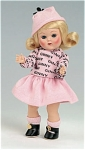 Click here to enlarge image and see more about item VOG2301C: 2006 Vogue Club Blonde Rain or Shine Ginny Doll Kit