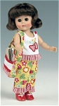 Click here to enlarge image and see more about item VOG2326: 2006 Vogue Cropping Queen Ginny Doll