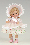 Click here to enlarge image and see more about item VOG2355: Vogue Jane Vintage Reproduction Ginny Doll 2006
