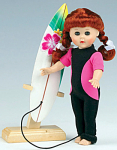 Click here to enlarge image and see more about item VOG2425A: Vogue The Wave Rider Modern Ginny Doll  2007