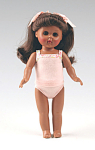 Click here to enlarge image and see more about item VOG2431C: Vogue Dress Me Afro-American Modern Ginny Doll in Peach