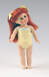 Click here to enlarge image and see more about item VOG2431D: Vogue Dress Me Redhead Modern Ginny Doll in Yellow 2007