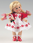 Vogue Candy Cane Vintage Reproduction Ginny Doll 2007