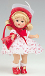 Click here to enlarge image and see more about item VOG2461: Vogue Bon Bons No. 85 Vintage Reproduction Ginny Doll 2007
