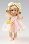 Click here to enlarge image and see more about item VOG2468: Vogue Easter Girl Vintage Reproduction Ginny Doll 2007