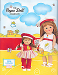 2008 Vogue Color Catalog shows Vogue Ginny dolls, clothing packs, and accessories for 2008. The 2008 vintage reproduction Ginny Doll, Coloring Books and the Mini Ginny Doll, Crayons, are on the cover. This catalog has 16 color pages. It has pictures and descriptions of the 2008 main line dolls and accessories, vintage-reproduction dolls and accessories, mini-Ginny collection. Lower priced first class shipping is available if just a catalog is ordered. If non-Priority First Class or even slower media mail shipping is desired, please mention it in comments section for lower priced postage to U.S.A. addresses, and total will be adjusted. These fit into Priority mail flat rate envelopes both for shipment within the U.S.A. and to other countries. New, mint condition.