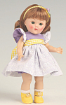 Click here to enlarge image and see more about item VOG2568: Vogue Lavender Confection Vintage Repro Ginny Doll 2008