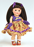 Click here to enlarge image and see more about item VOG2574: Vogue Peanut Butter Vintage Repro Ginny Doll 2008
