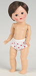 Vogue Brunette Boy Dress Me Vintage Repro Ginny Doll 2008