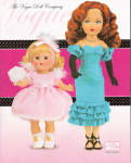2009 Vogue Color Catalog of Vogue Ginny dolls, clothing packs, and accessories for 2009. The 2009 21st Century Jill doll, Starlet, and the vintage reproduction Ginny doll, Power Puff, are on the cover. This catalog has 8 color pages including the cover. It has pictures and descriptions of the 2009 main line dolls and accessories including the 21st Century Jill, vintage-reproduction dolls and accessories, a mini-Ginny collection, and only one modern Ginny, Forget-Me-Not Fairy. There are no modern Ginny doll outfits. This catalog does not mention the Vogue Doll Club which is being restructured, and information will be available later in 2009. Lower priced first class shipping is available if just a catalog is ordered. If non-Priority First Class or even slower media mail shipping is desired, please mention it in comments section for lower priced postage to U.S.A. addresses, and total will be adjusted. These fit into Priority mail flat rate envelopes both for shipment within the U.S.A. and to other countries. Near mint condition old stock.