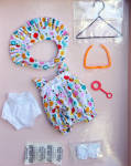 Vogue Bubble Up Modern Ginny Doll Clothing Pack 2011