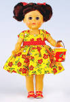 Click to view larger image of Vogue 2011 Flower Power Modern Ginny Doll (Image2)